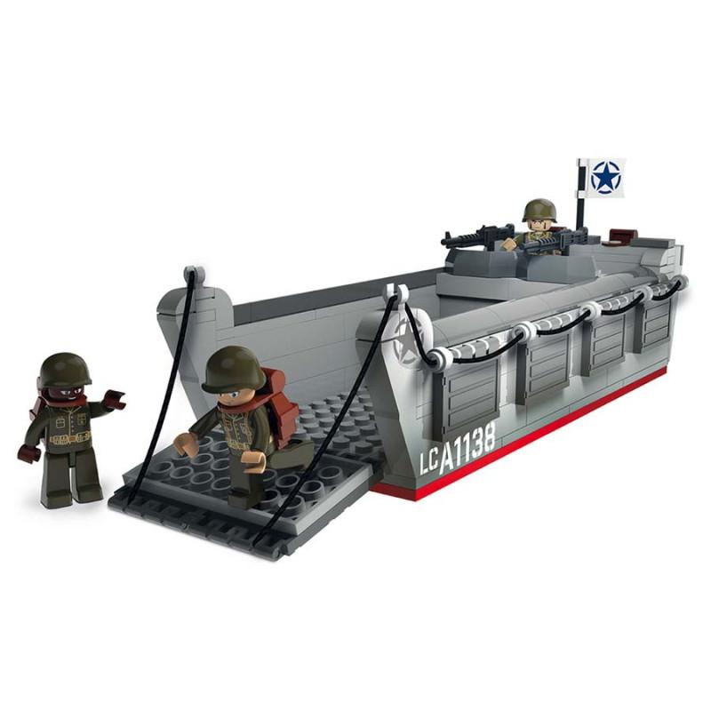 Landing Craft Assault, LCVP, D-Day, lego / Sluban