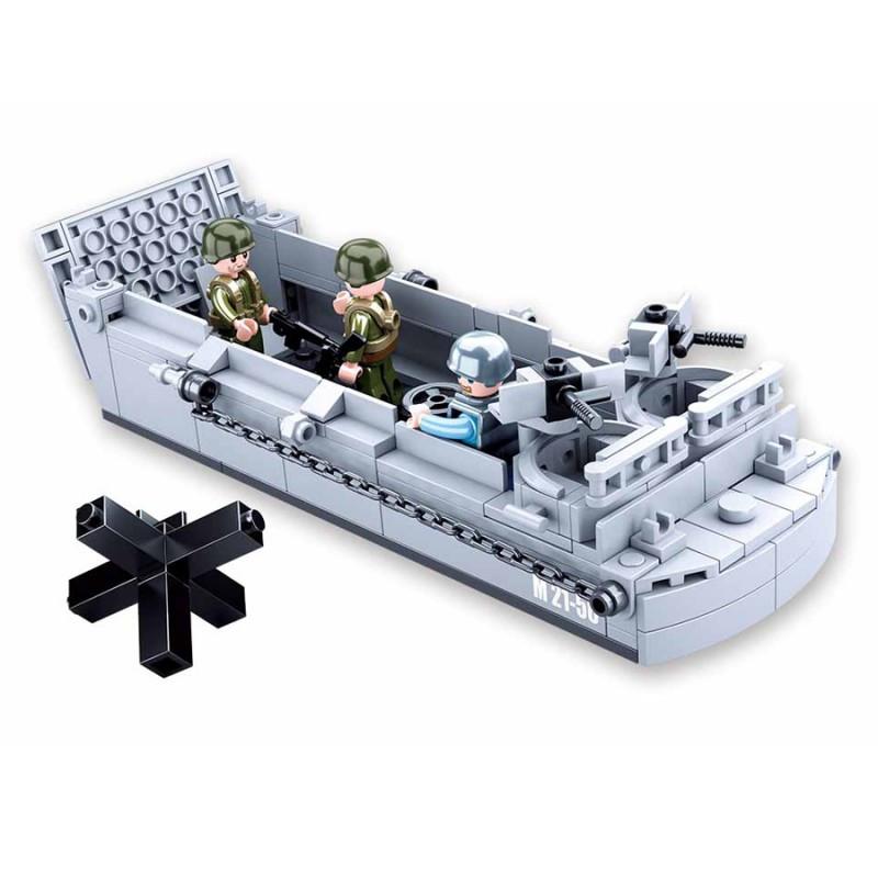 Landing Craft Assault, LCVP, D-Day, lego / Sluban 182p