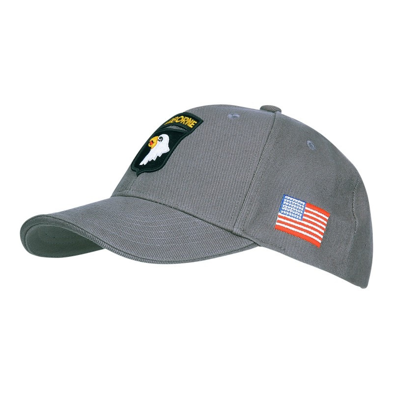 Cap, Baseball, 101st Airborne Division, Grey