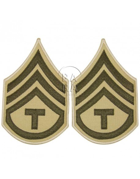 Rank, Insignia, T/3, Summer