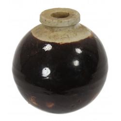 Grenade céramique, Type 4, marron, japonaise