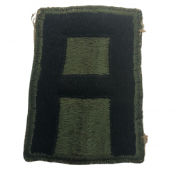 Patch , 1st Army, White Back
