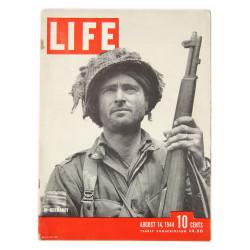 Magazine LIFE, Lt. Kelso Horne, 508th PIR, 82nd AB, 14 août 1944