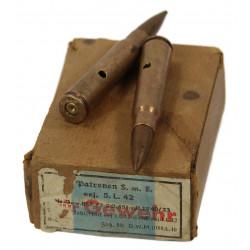 Cartridges, Mauser 98k, 1942, Normandy