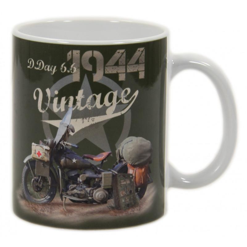 Mug, D-Day Vintage Harley