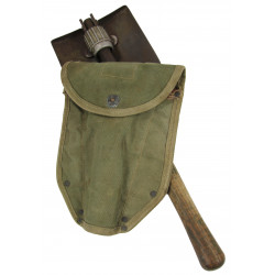 Shovel, Folding, M-1943, 1st type, Shortened, Normandy