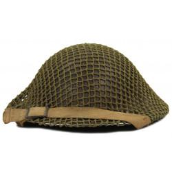 Helmet, Mk II, British, 1941, with net
