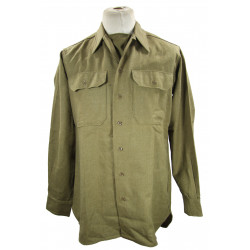 Shirt, Wool, Special, US Army, size 15 ½ x 35, 1943
