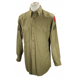 Shirt, Wool, Cpl, 28th Infantry Division