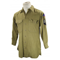 Shirt, Wool, T/4, Armored Division