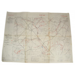 Going Map, Normandy, Nécy (South of Falaise), 1944
