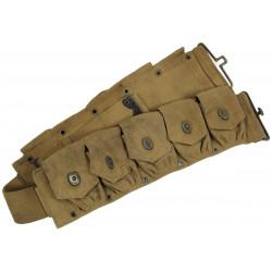 Belt, Cartridge, M1 Rifle, British Made, 1943
