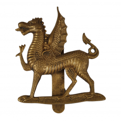 Cap Badge, Monmouth Grammar School, Officers' Training Corps