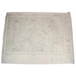 Carte allemande, Saint-Vaast-la-Hougue, 1944