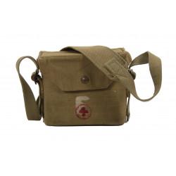 Case, Canvas, Binoculars, British, Red Cross
