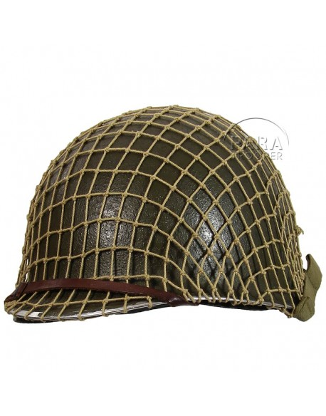 Net helmet medium-mesh, kaki