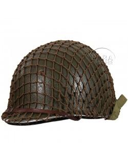 Net helmet medium-mesh, brown