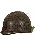 Filet de casque maille moyenne, marron