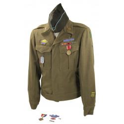 Grouping, Pfc. Herbert Challberg, 91st Infantry Division, ETO