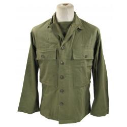 Jacket, HBT (Herringbone Twill), US Army, 1944
