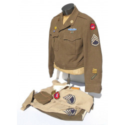 Grouping, S/Sgt., 1st Army, VII Corp, Normandy