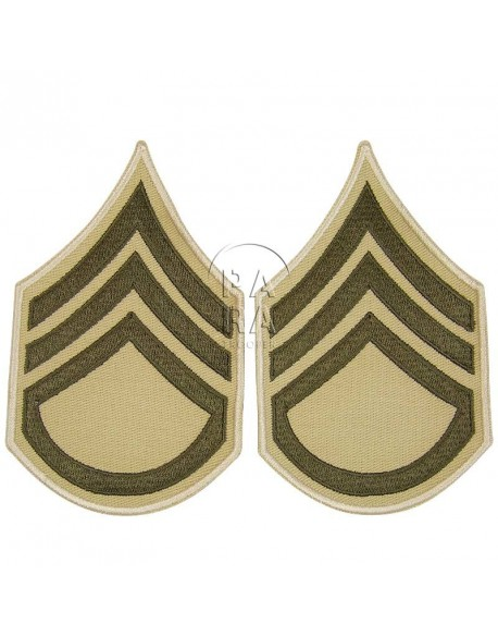 Rank, Insignia, Staff/Sergeant, Summer