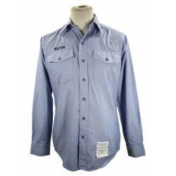 Chemise type chambray, US Navy, après-guerre