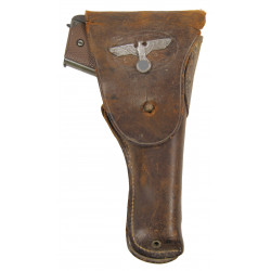 Holster, Belt, Pistol, Colt M1911A1, with German insignia