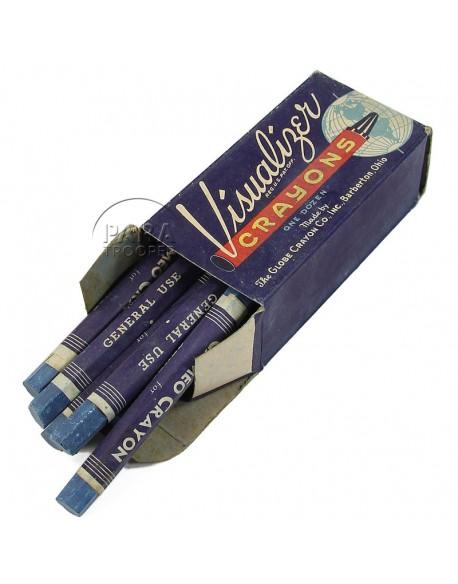 Boite de crayons-marqueurs