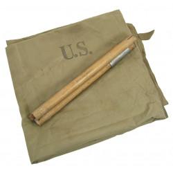 Demi-toile de tente, 1er type, US Army, 1942