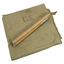Tent, Shelter, Half, 1st type, US Army, 1942
