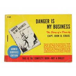 Novel, US Army, Danger is my Business, 1938