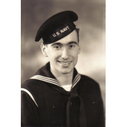 Life Preserver, M-1926, US Navy, 1943, John Maguire, USS Kendrick, MTO