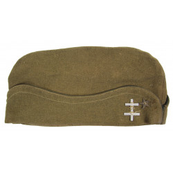 Cap, Garrison, Officer's, Medical Department, French Army, 1940