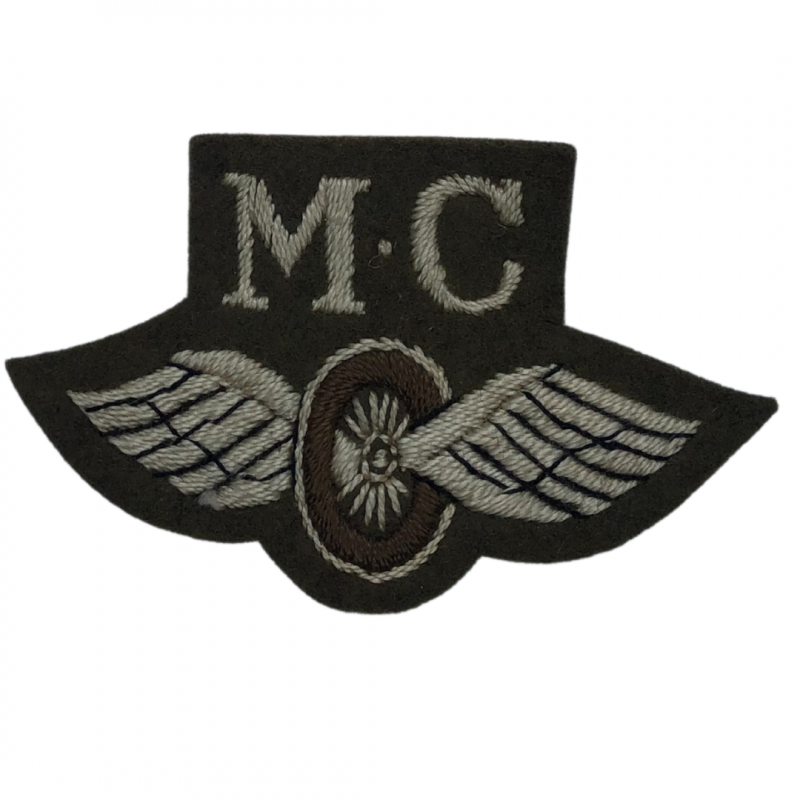 Insignia, British Motorcyclist, Embroided