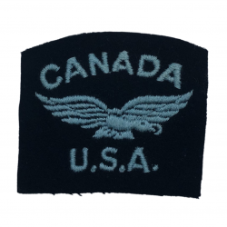 Title, American Volunteer, RCAF, Embroided