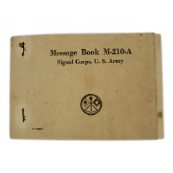 Message book, M-210-A, 1943