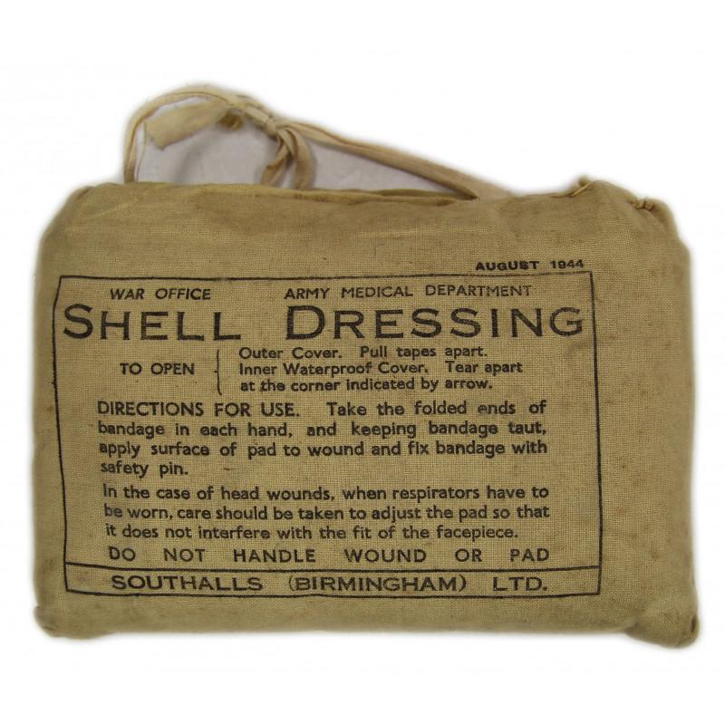 Pansement britannique, décembre 1941, Shell Dressing