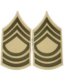 Grades en tissu de Master Sergeant, été