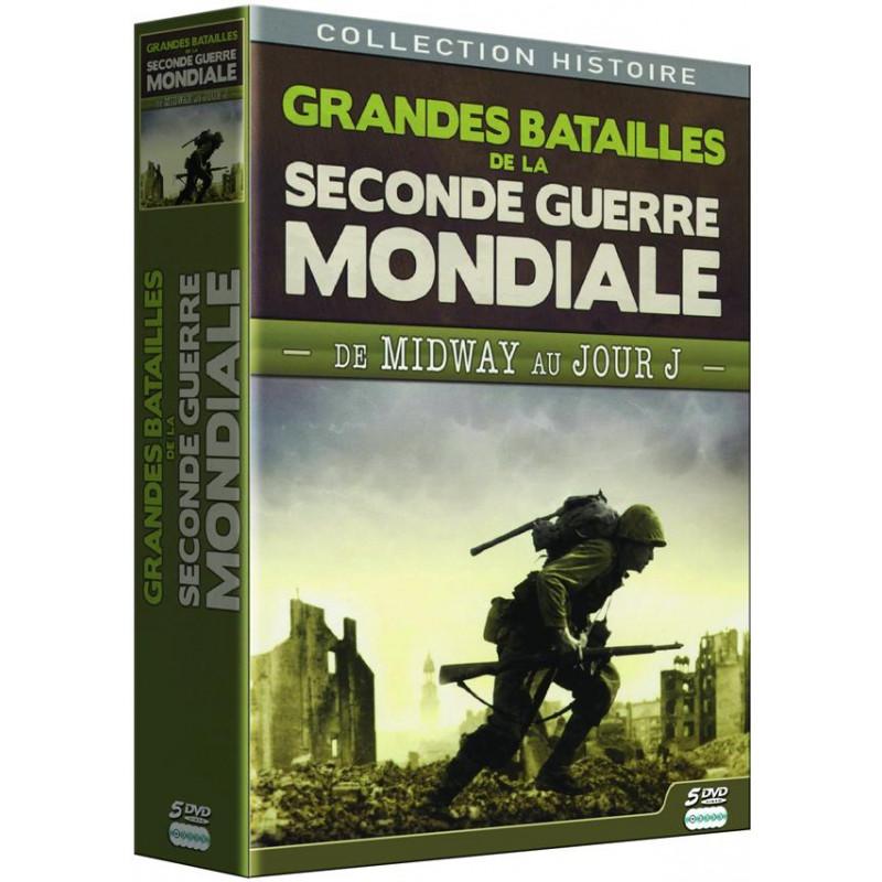 Coffret DVD - Grandes batailles de la Seconde Guerre mondiale