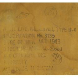 Life preserver, B-4, 1943, named