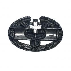 Badge, Combat, Medic, US, Sterling