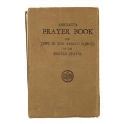 Book, Prayer, Abridged, Jewish, 1941