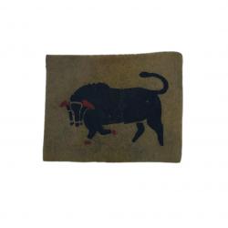 Insigne, 11th Armoured Division, feutre