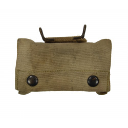 Pouch, First Aid, M-1910, L.C.C. & CO., 1917, with First Aid Packet