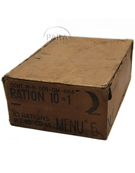 Caisse de ration 10 in 1, 1944