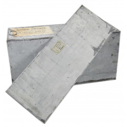 Container, Zinc, Surgical Dressings, Canadian, Normandy
