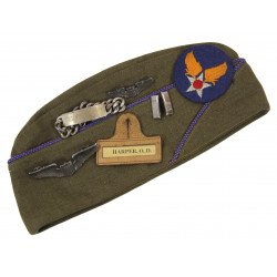 Grouping, 1st Lieutenant Orville D. Harper, pilote USAAF