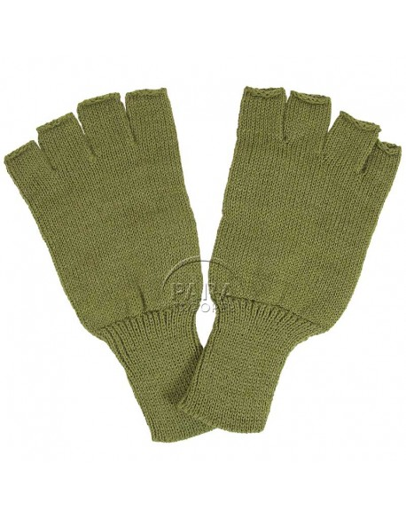 Mittens, wool, luxe