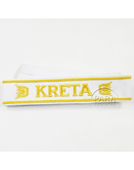Cuff Tittle, Kreta, embroidered